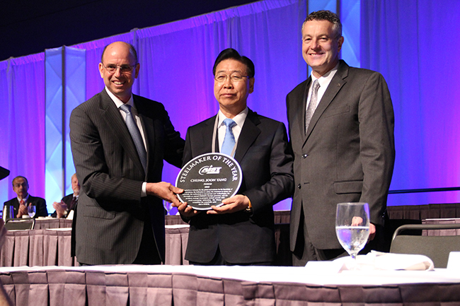 CEO Joon-Yang Jung awarded with AIST Steelmaker of the Year_01