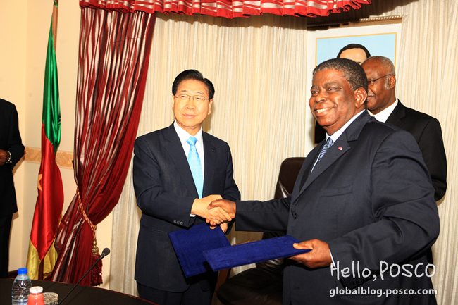 POSCO Enters Offshore Plant Cooperation MOUs with Cameroon Government