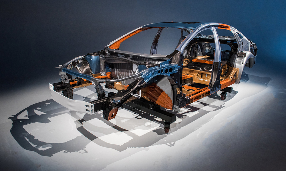 Chevrolet body frame