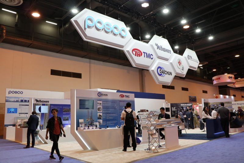 POSCO participated offshore technology conference introducing energy steel products and solutions