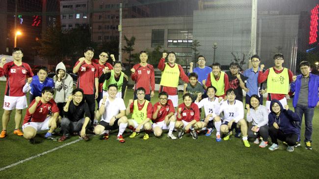 ▲ 스사모 회원들과 함께 한 즐거운 축구 경기