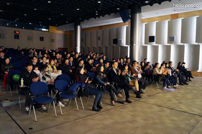 관객들의 모습