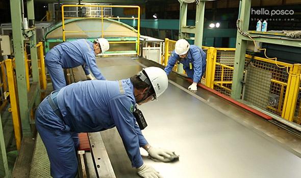 공장 스태프까지 참여한 대대적인 공정품질 관리