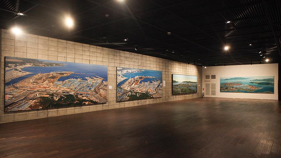 포스코센터내 포스코 미술관 내부