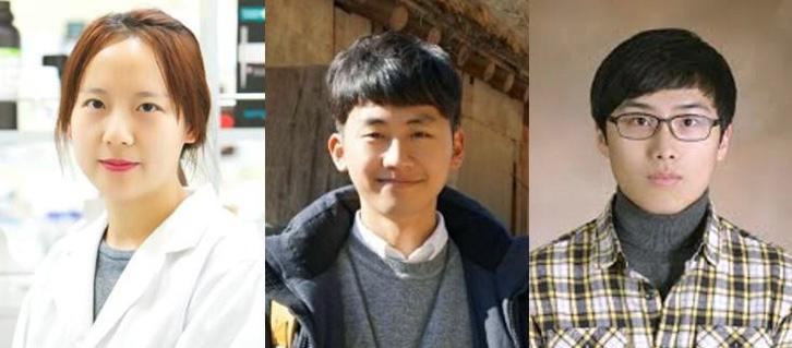 포브스 '2019 아시아의 영향력 있는 30세 이하 리더 30인'에 선정된 3인. 왼쪽부터 금도희 박사, 윤관호 씨, 이다솔 씨