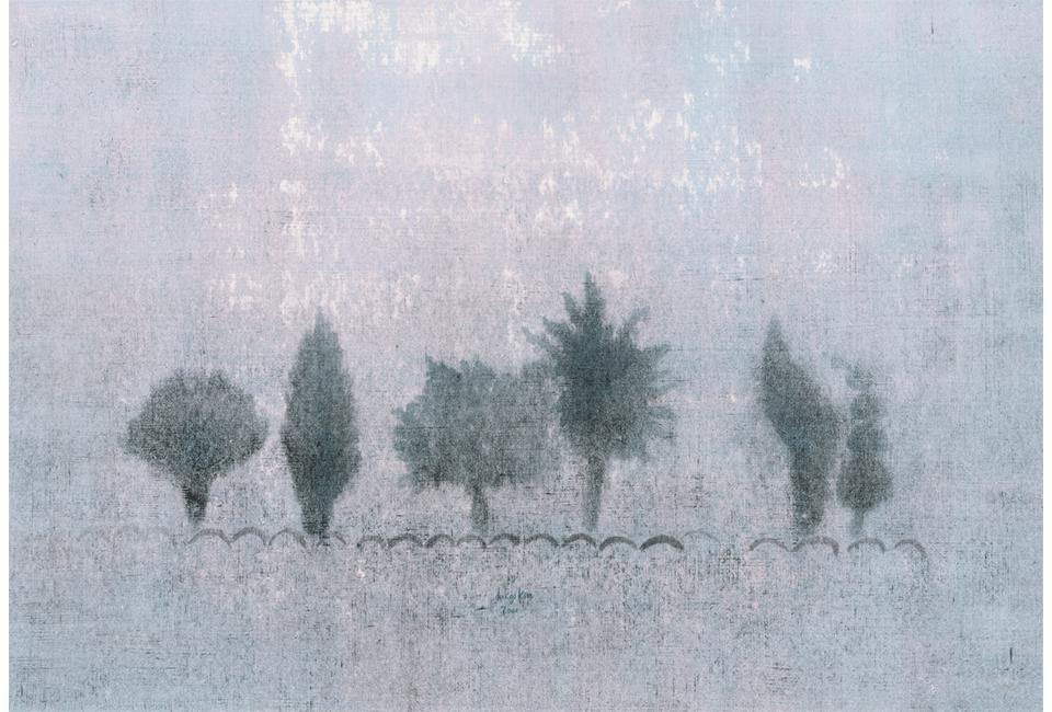 김덕기작가가 관람객에게 추천하고 싶은 작품 세 그루의 나무