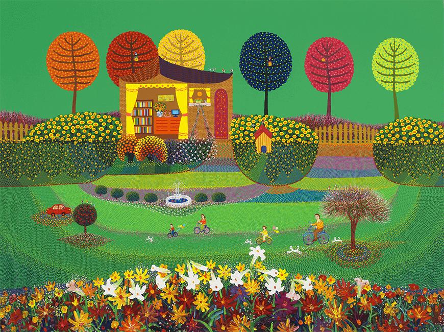 김덕기 작가의 작품, 가족 - 함께하는 시간,여름