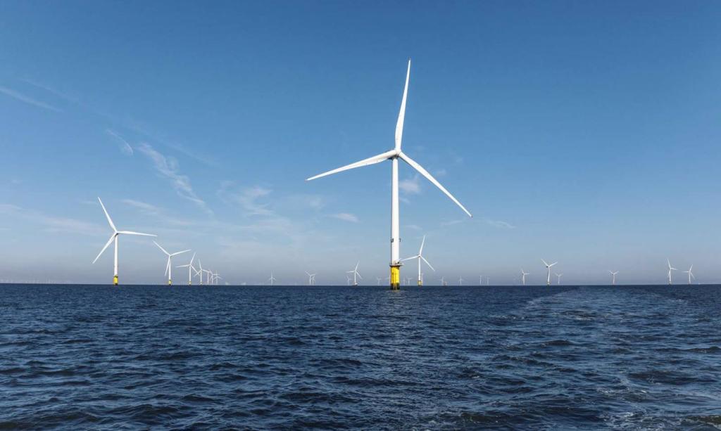 영국 Hornsea2 해상풍력발전 단지
