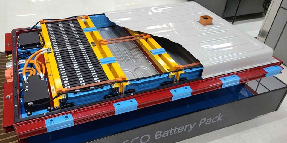 e Autopos의 배터리팩, PBP-EV 시제품