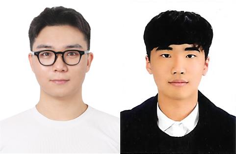 (왼쪽부터) 포스코히어로즈로 선정된 정한호(24세), 이영호(23세)