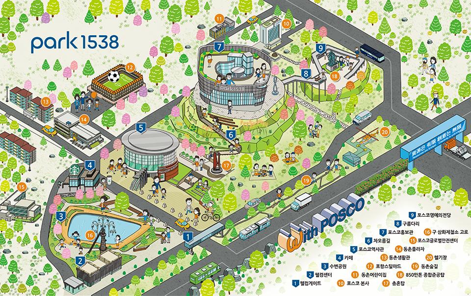 Park1538의 지도이다.